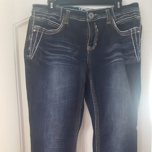 Woman H Trademark Denim Jeans